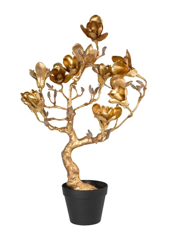 Globen Lighting Arbre magnolia, Coloris or