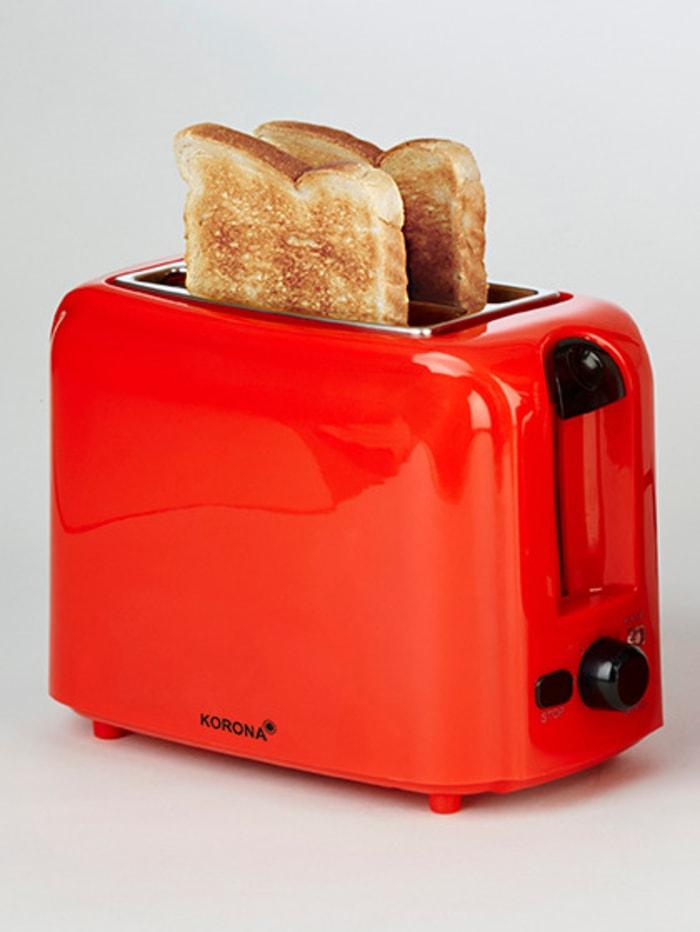 Automatik-Toaster 21133, für 2 Brotscheiben, rot
