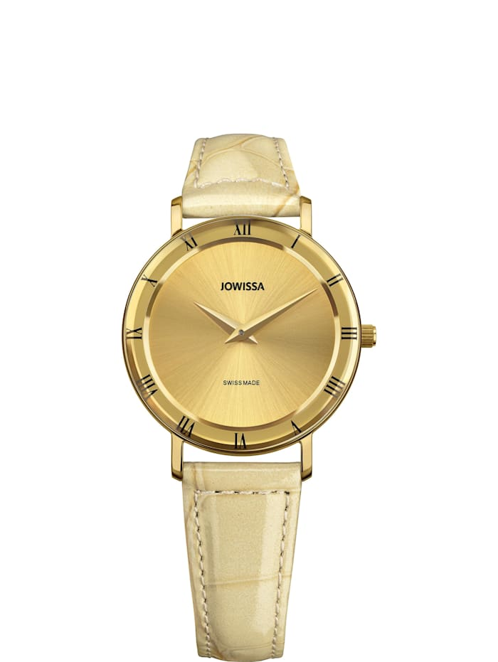 Jowissa Quarzuhr Roma Swiss Ladies Watch, gold