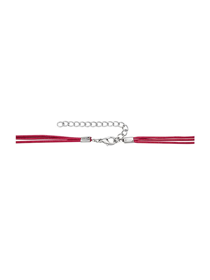 Halsband med stort hänge
