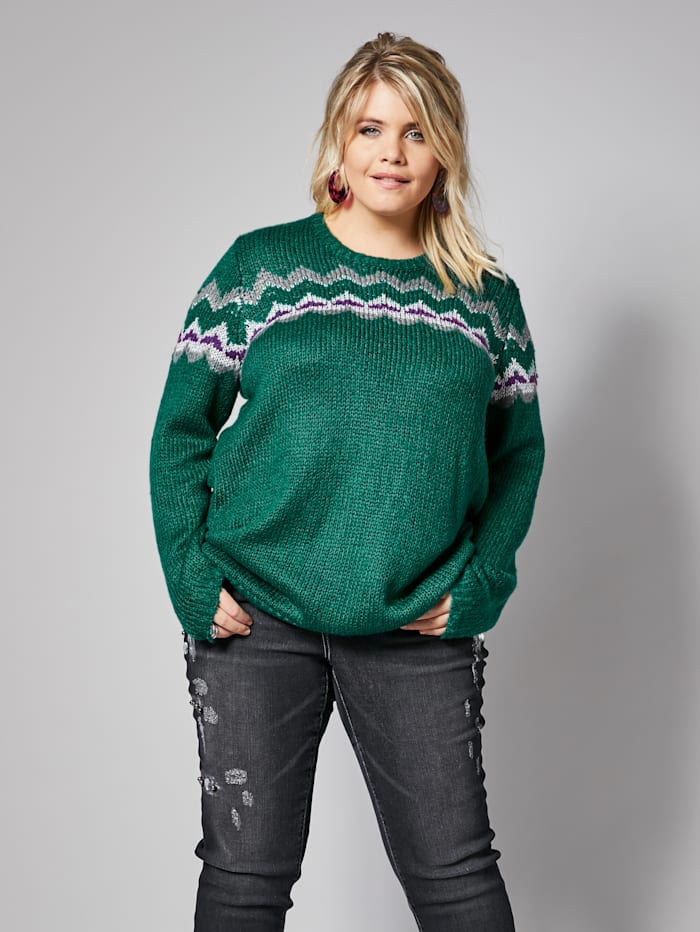 Angel of Style Pullover, Türkis