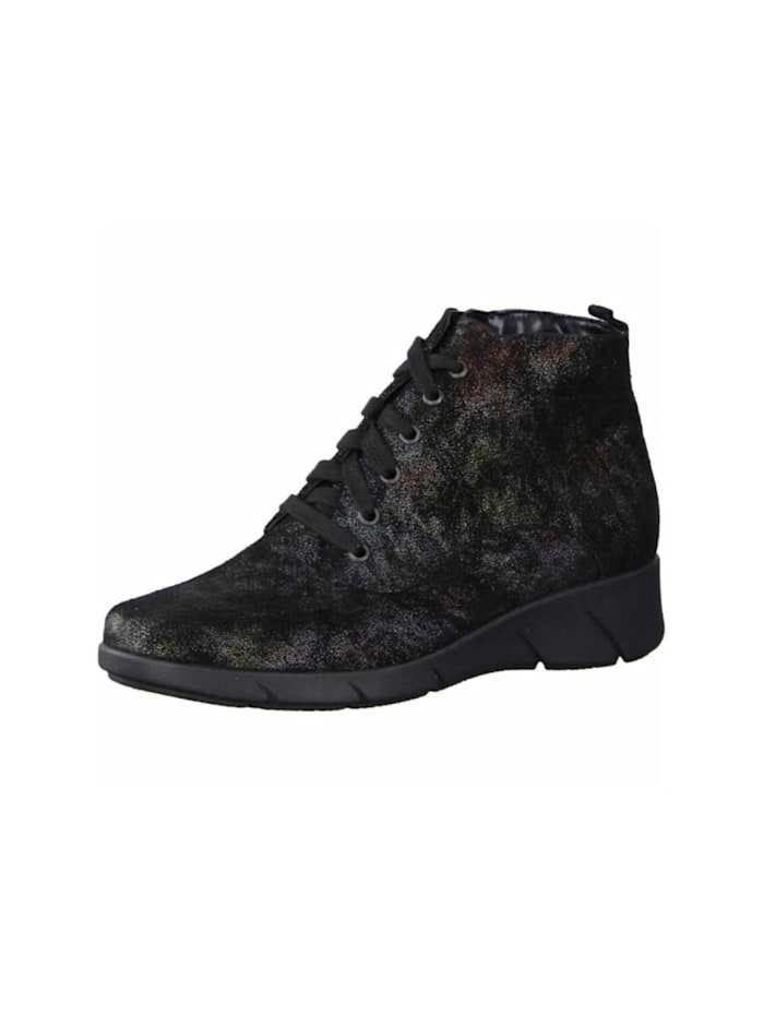 Waldläufer Stiefelette, schwarz