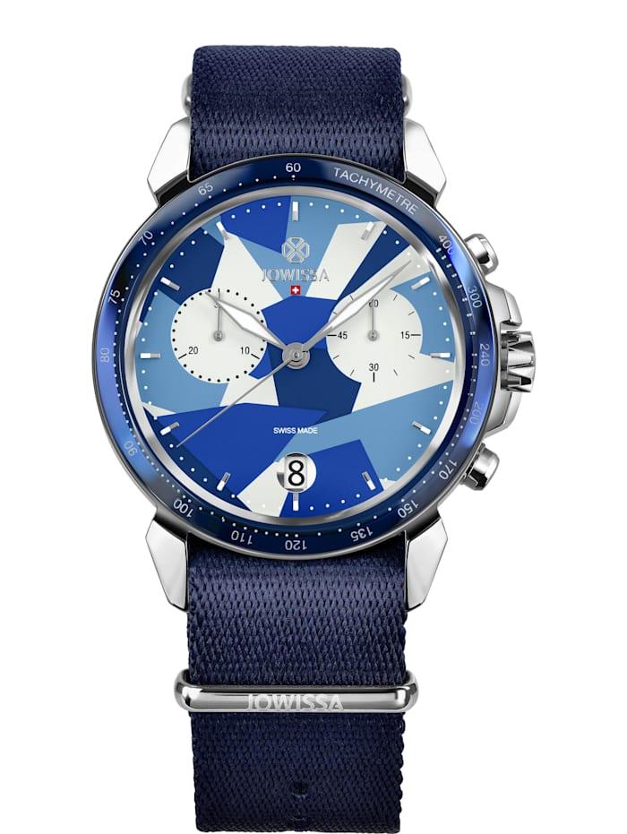 Jowissa Quarzuhr LeWy 15 Swiss Men's Watch, blau