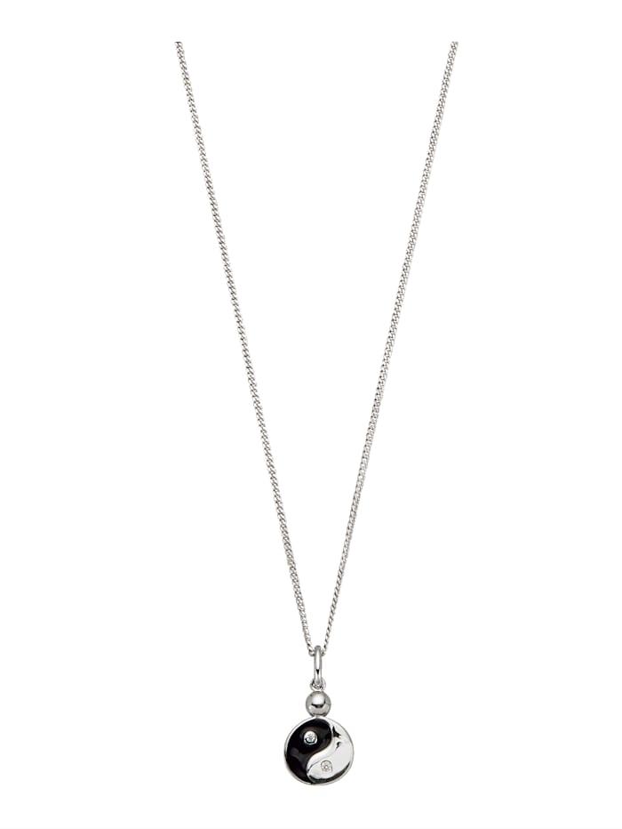 KLiNGEL Hanger Yin Yang, Zilverkleur