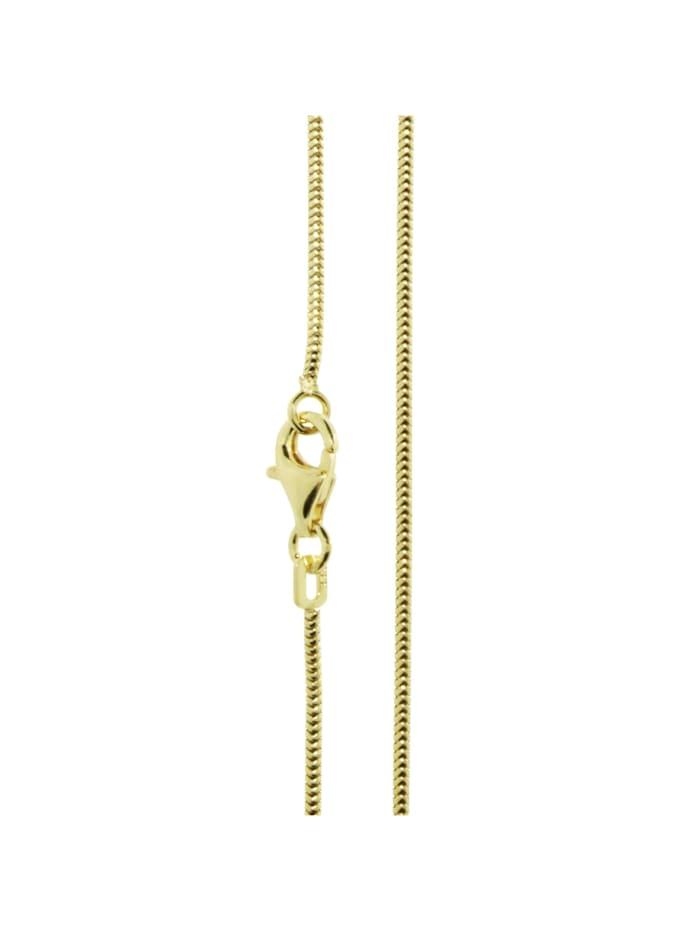 OSTSEE-SCHMUCK Kette - Schlange 1,2 mm - Gold 585/000 - ,, gold