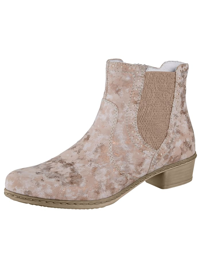 Chelsea Boots with a subtle shimmer