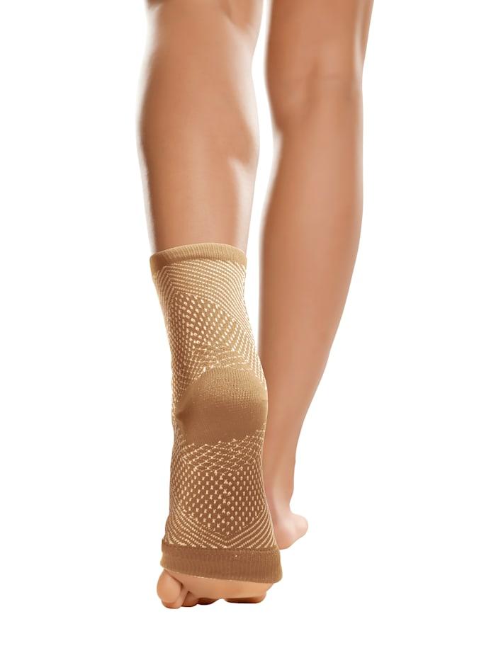 Smarttex Steunsokken voor vermoeide en gestreste voeten, Zwart
