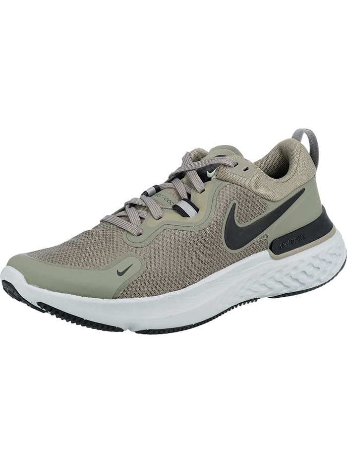 Nike Performance React Miler Laufschuhe, olive