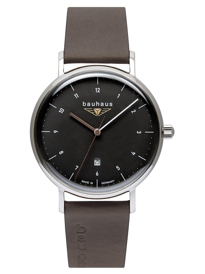 Bauhaus Armbanduhr Bauhaus Quarz 2142-2, ANTHRAZIT