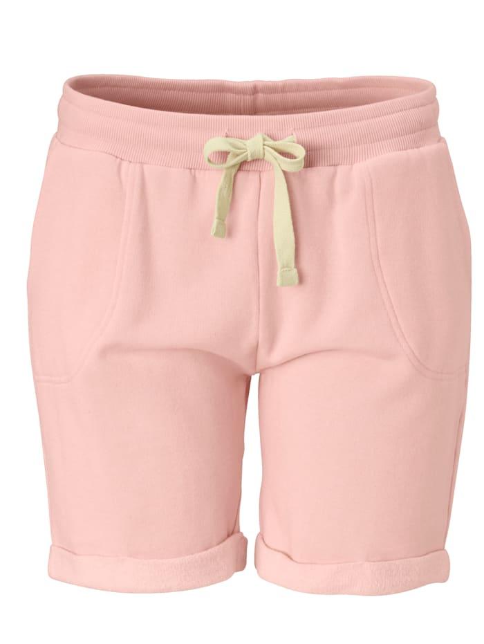 gwynedds Sweat-Shorts, Rosé
