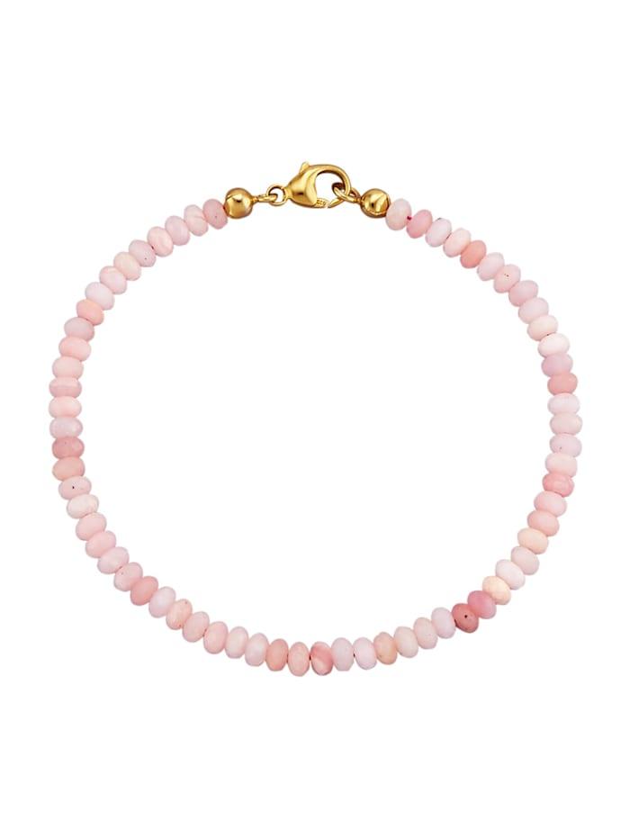 Armband met opaal, Roze