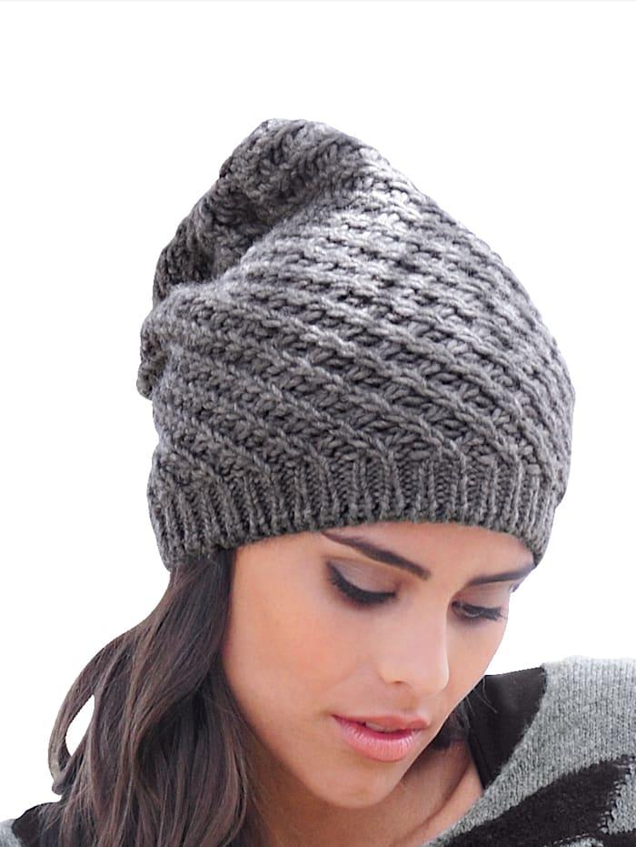 Mütze aus weichem Strick