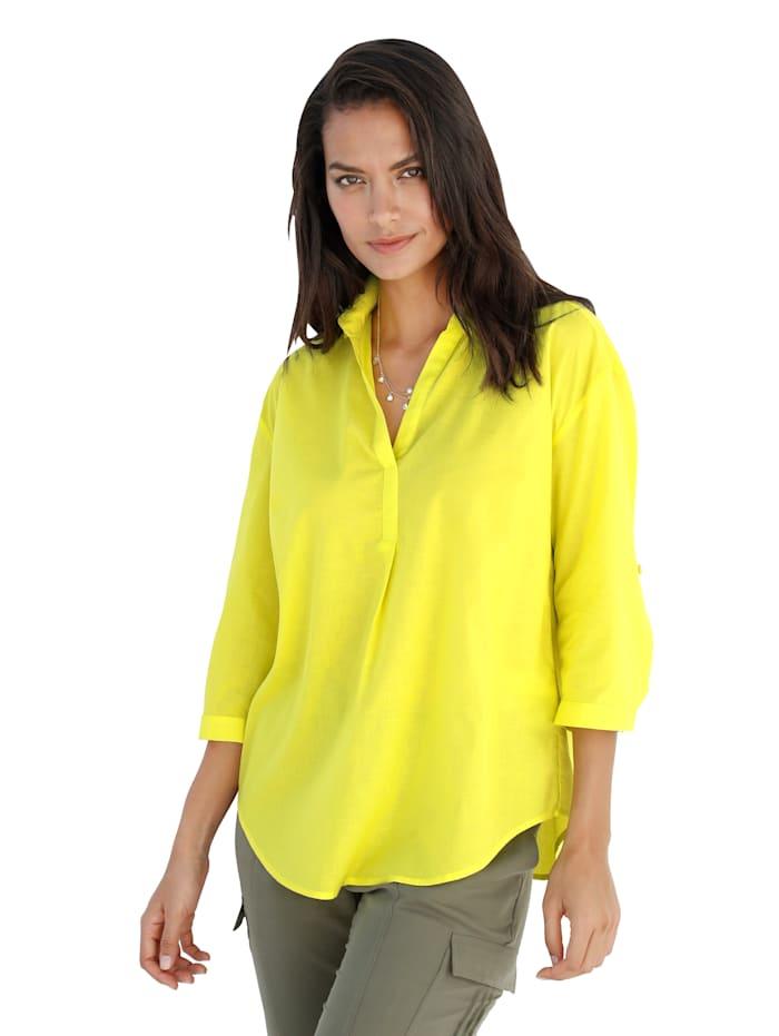 Betty Barclay Bluse in trendiger Neonfarbe, Neongelb