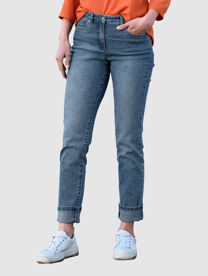 basically you Jeans Paola Slim, Blue bleached
