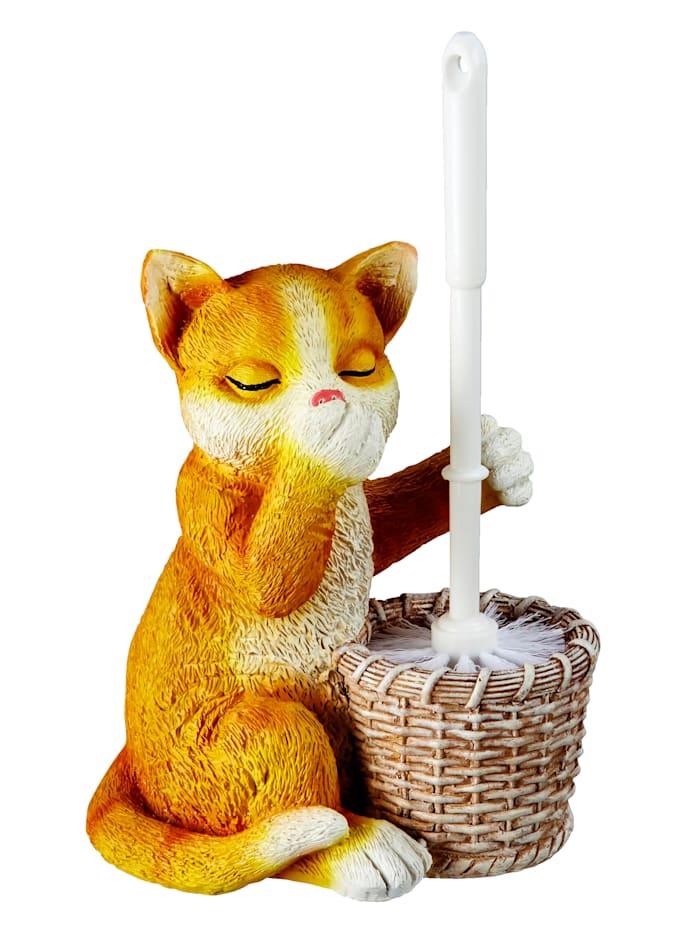 """WC-harja telineessä """"Kissa"""", Monivärinen"""
