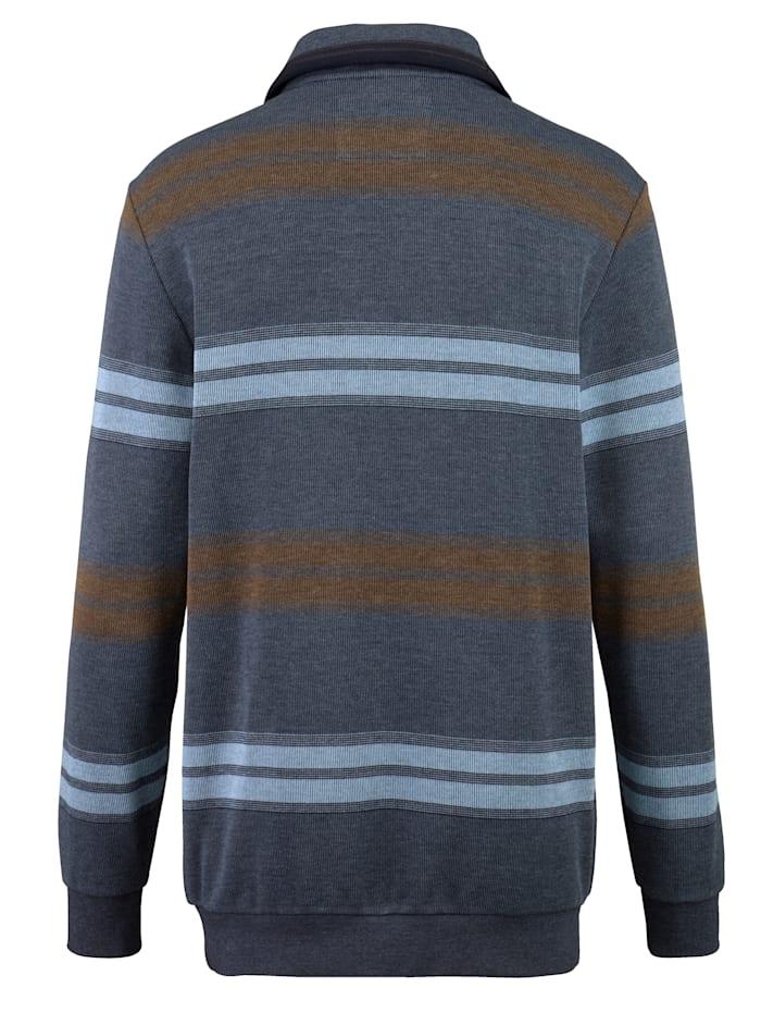 Sweatshirt met borstzakje