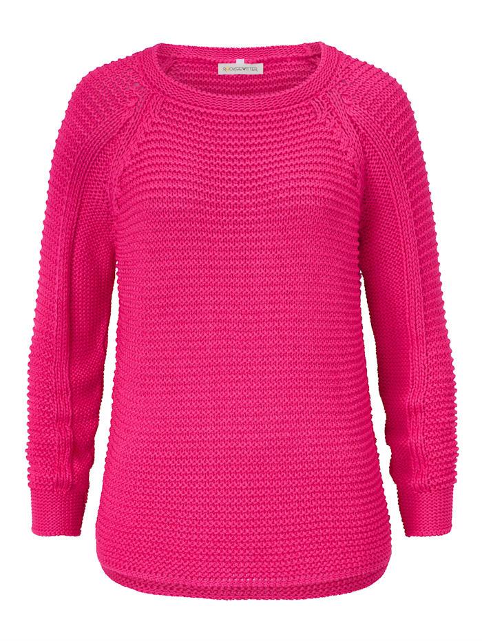 ROCKGEWITTER Strickpullover, Pink