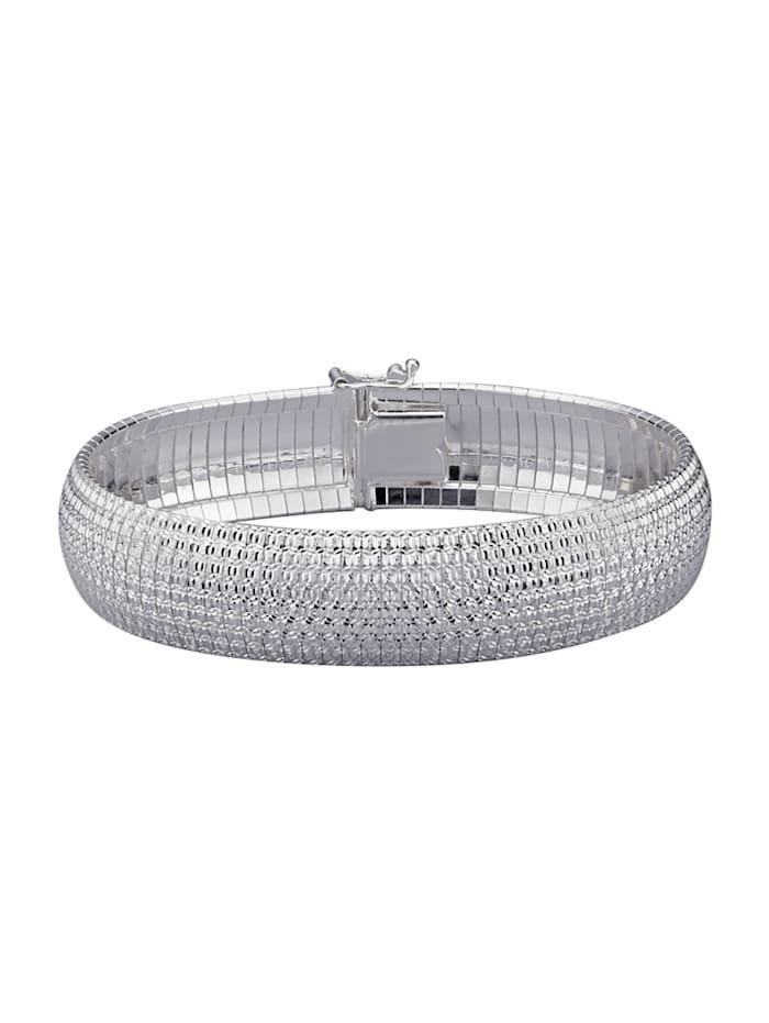 Diemer Trend Cleopatra-Armband, Silberfarben