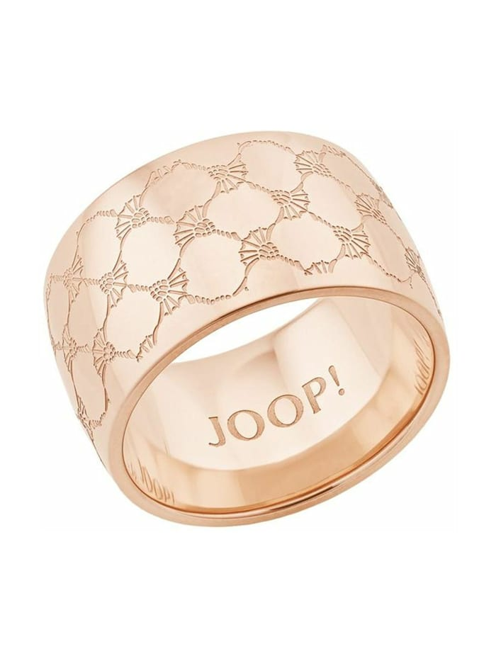 JOOP! Ring für Damen, Edelstahl, Roségold