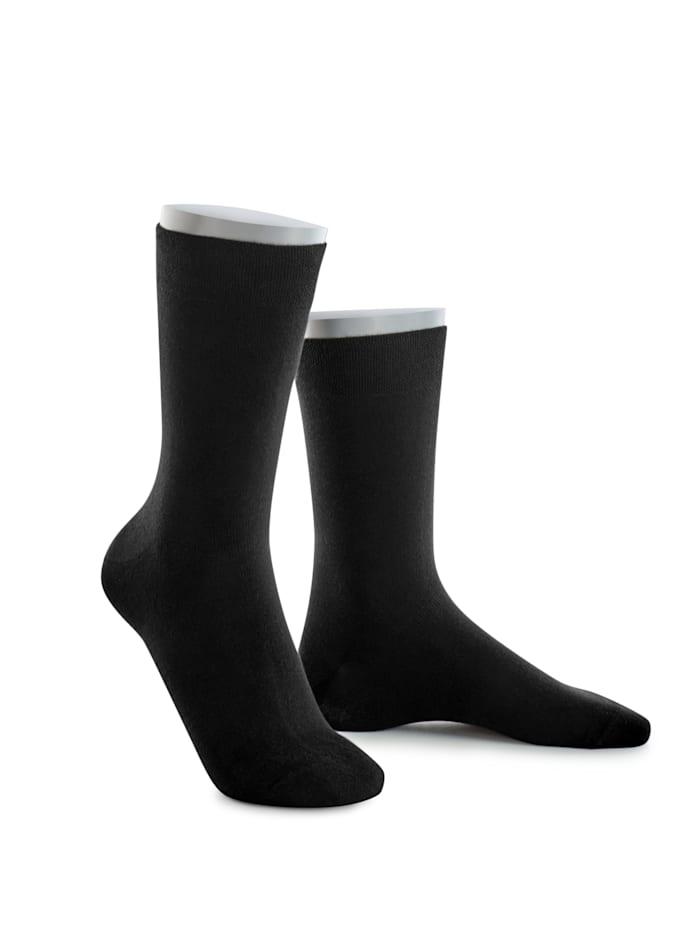 Chaussettes, 5 paires en coton biologique