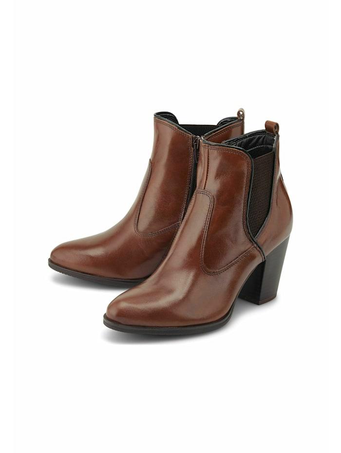 COX Chelsea Boots Chelsea-Stiefelette, dunkelbraun
