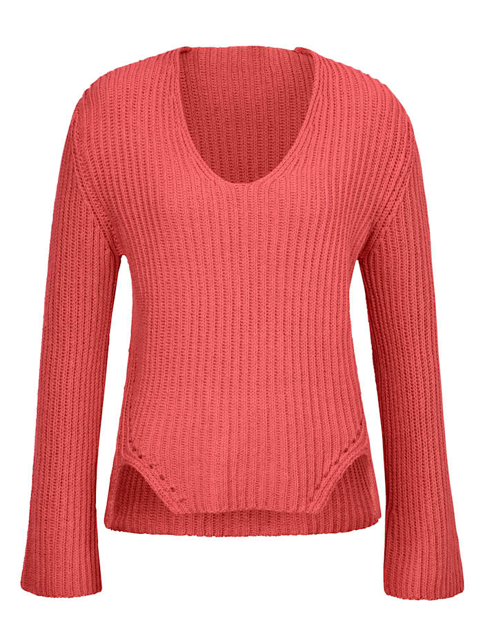 REKEN MAAR Pullover, hibiskus