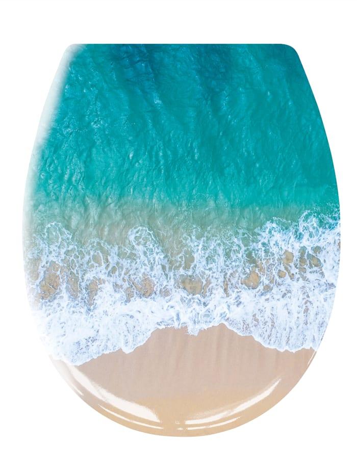 Kleine Wolke WC-Sitz 'Waikiki', mehrfarbig