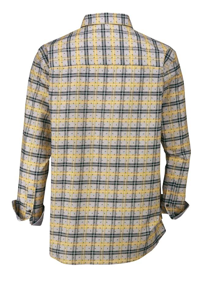 Overhemd van aangenaam twillmateriaal