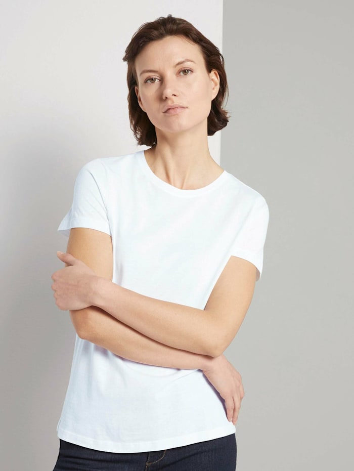Basic T-Shirt im Doppelpack