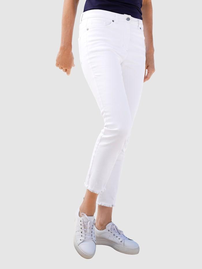Dress In Jeans in Sabine Extra Slim model, Wit