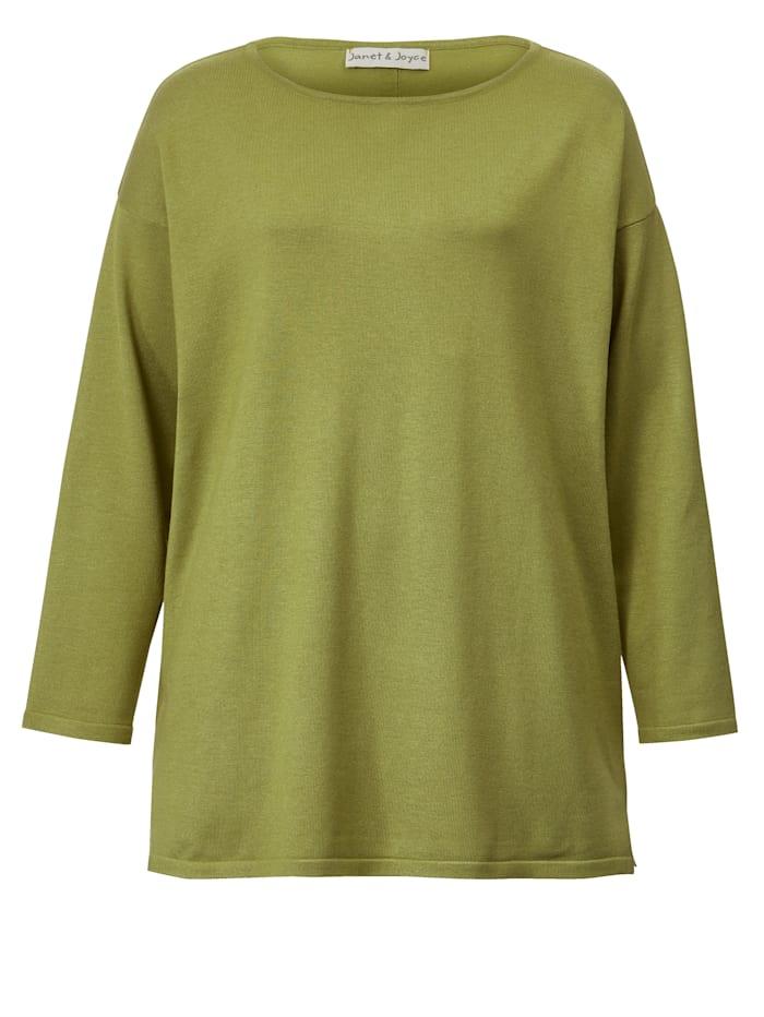 Pullover mit Knöpfen im Rückteil