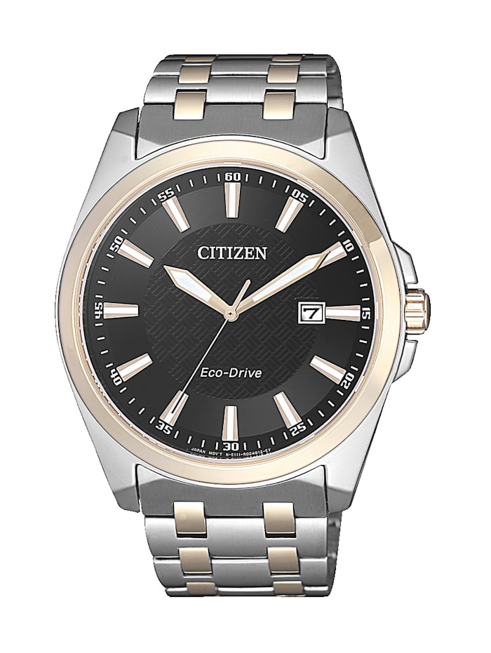Citizen Herrenuhr Eco-Drive BM7109-89E, Silberfarben