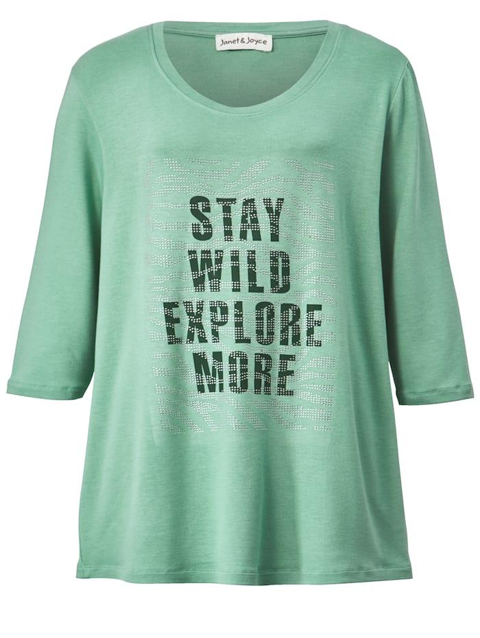 Shirt mit modischem Frontprint