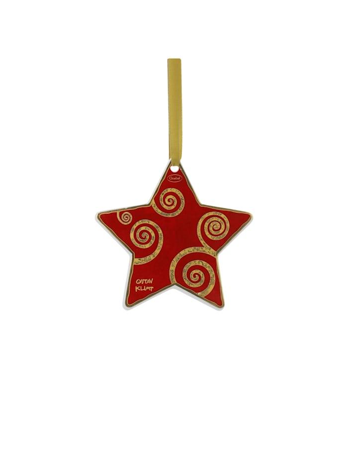Goebel Goebel Hängeornament Gustav Klimt - Der Lebensbaum weiß-rot, Klimt - Lebensbaum
