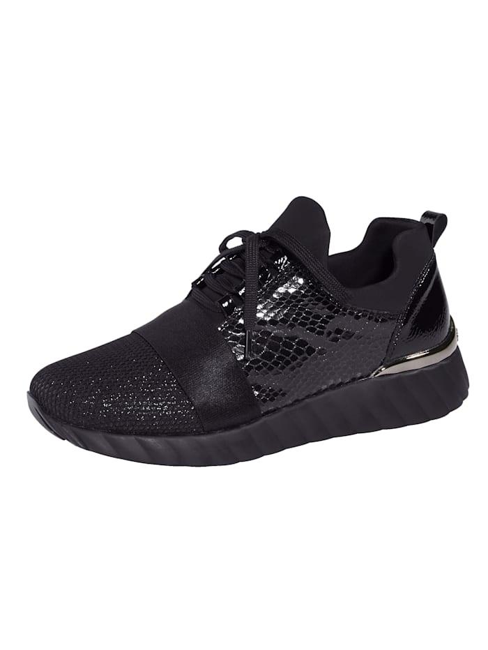 Remonte Sneaker met SoftFoam binnenzool, Zwart