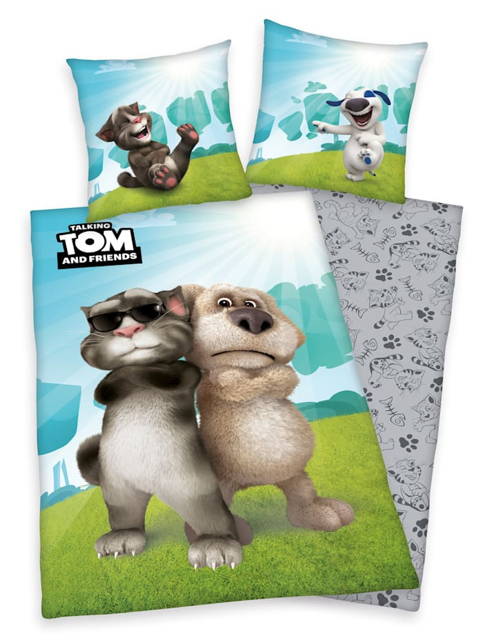 2-delige set bedlinnen Talking Tom
