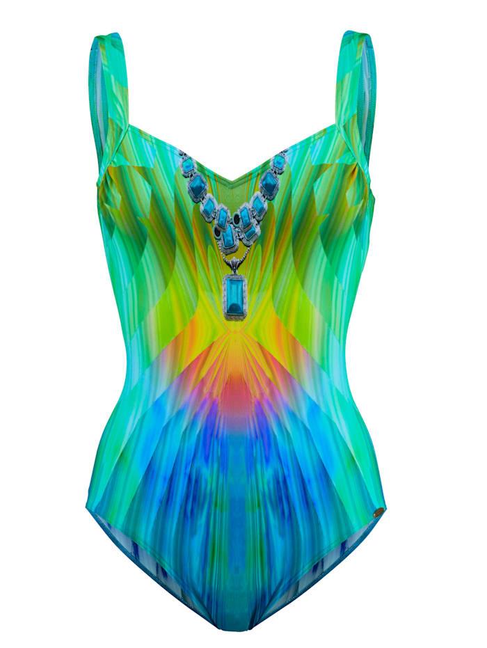 Sunflair Badpak in regenboogkleuren, multicolor
