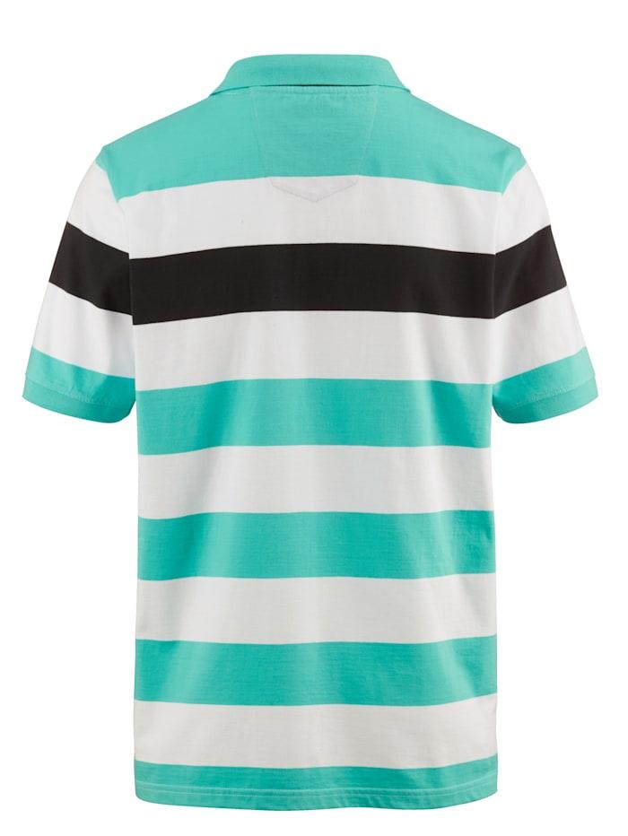 Poloskjorte i single jersey