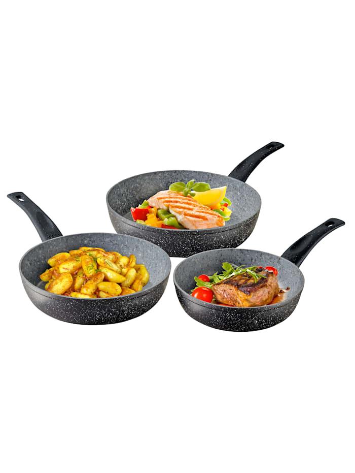Set van 3 koekenpannen Duroxx Granit Supreme