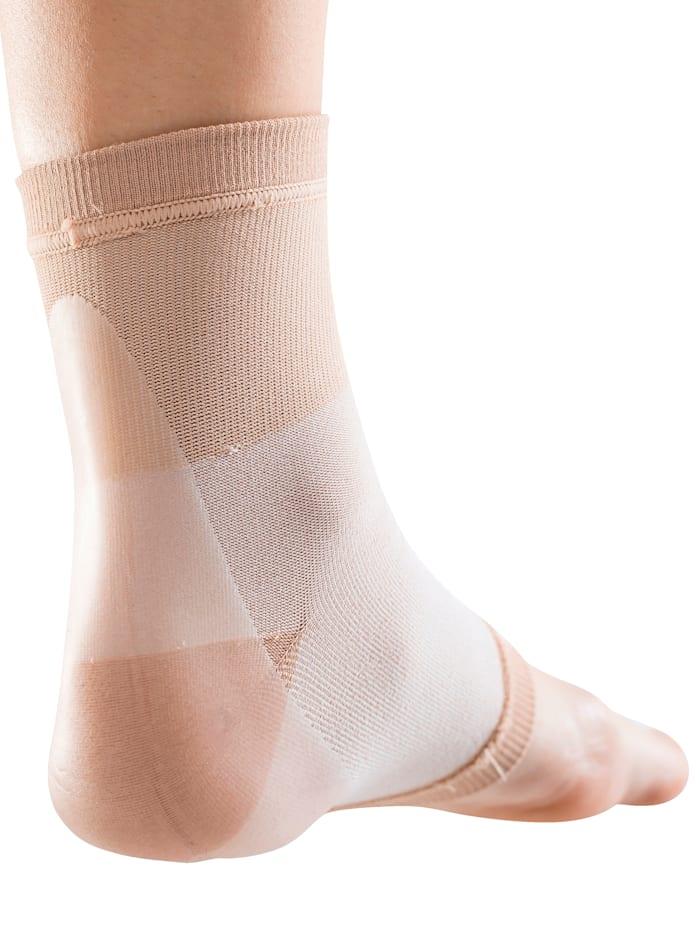 MedoVital Gélové ponožky vystlané, telová