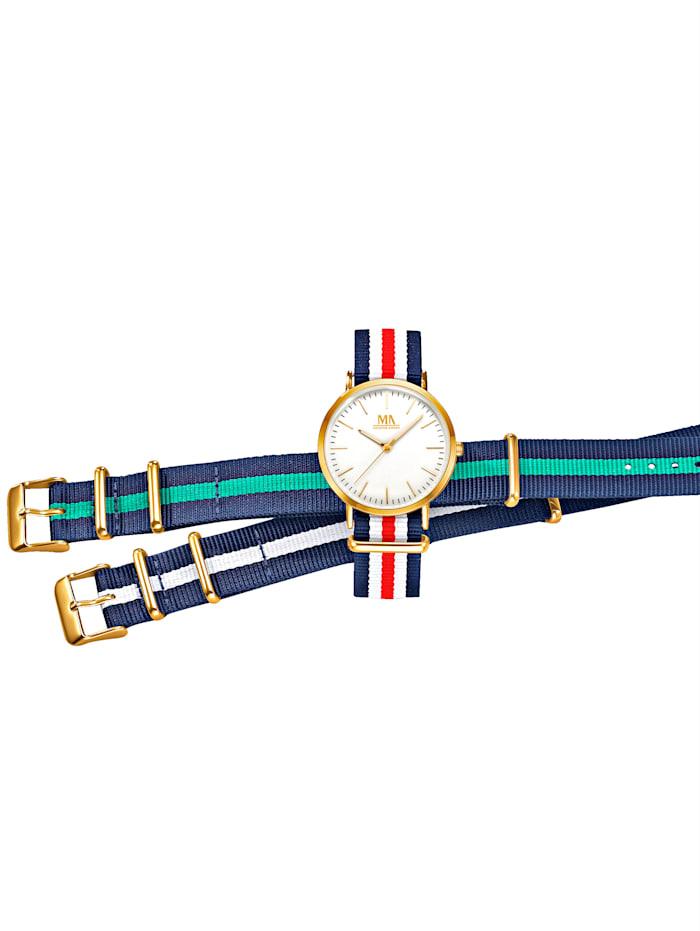 Meister Anker 3-d. souprava hodinek, Multicolor