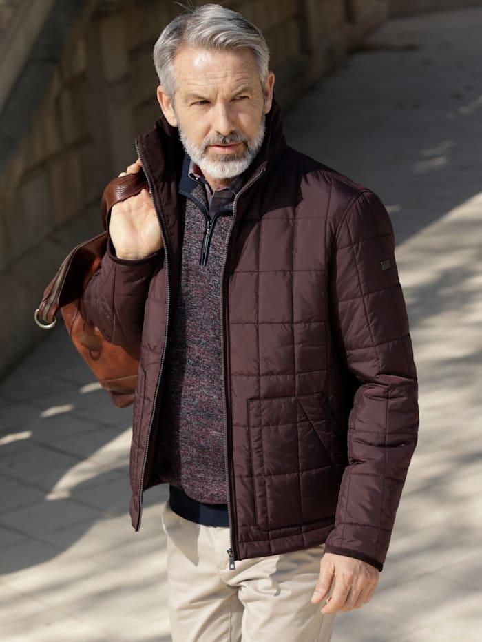 BABISTA Gewatteerde jas van licht materiaal, Aubergine