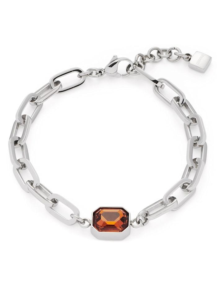 Leonardo Damen-Armband Candela Edelstahl, Silberfarben