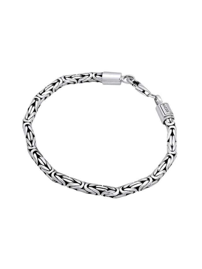 Armband Basic Männer Königskette Robust Massiv 925 Silber