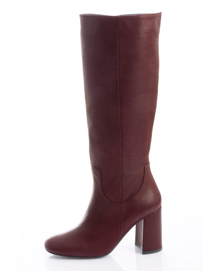 Stiefel aus handschuhweichem Leder