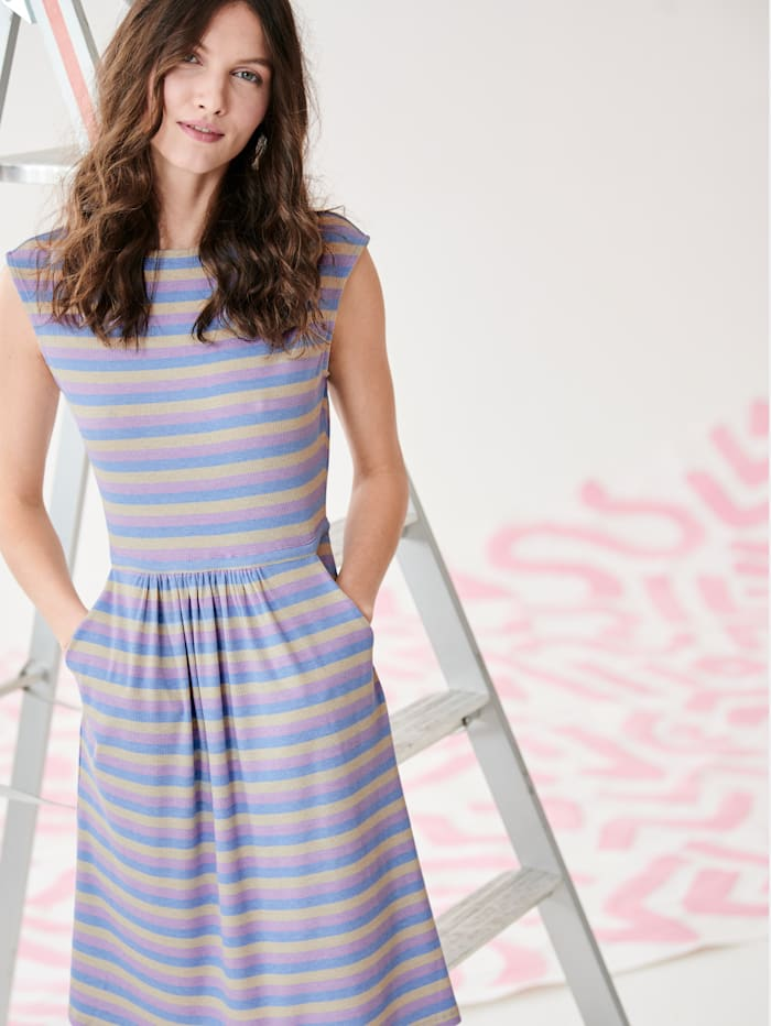 REKEN MAAR Jerseykleid, Multicolor