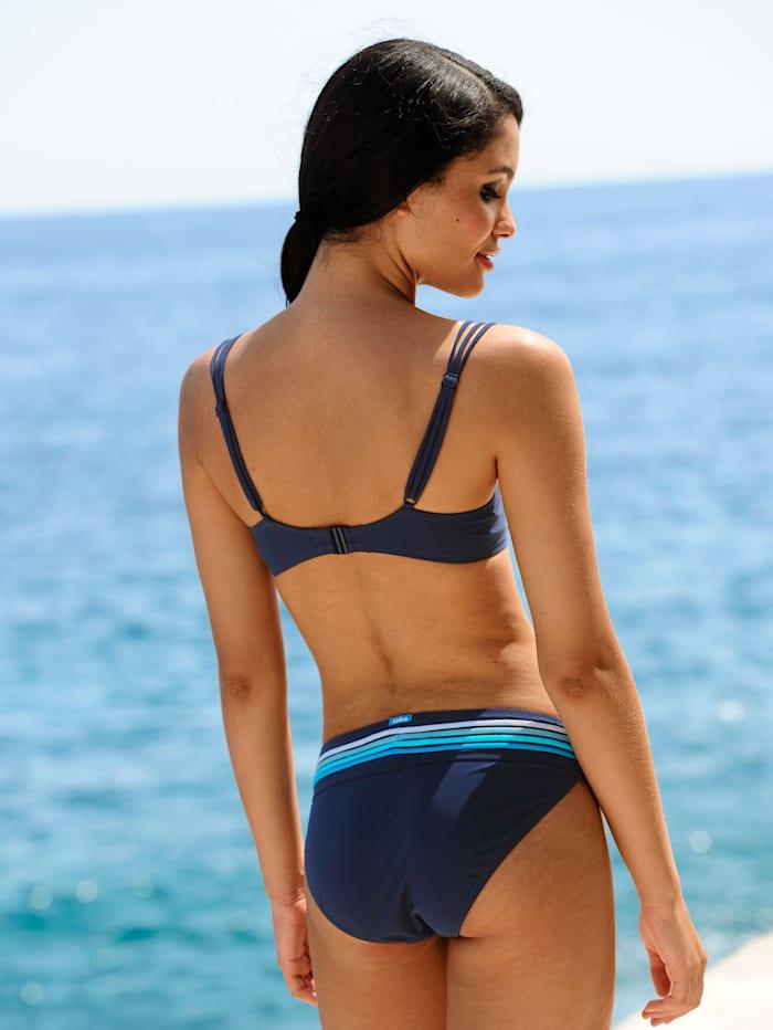Bikinihose mit Biesen