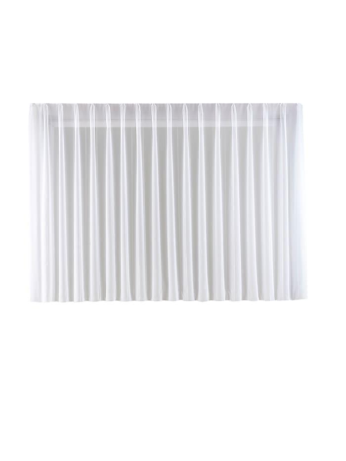 Home Wohnideen Gardinserie -Viole-, hvit