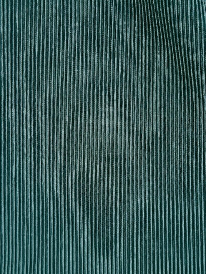 T-shirt plissé en cache-cœur