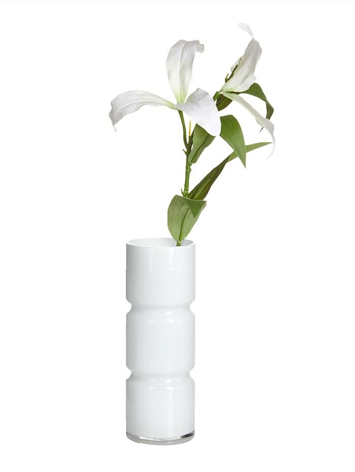 IMPRESSIONEN living Vase, WHITE